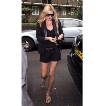 Tendance short Kate Moss