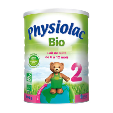 Le lait Physiolac Bio 2