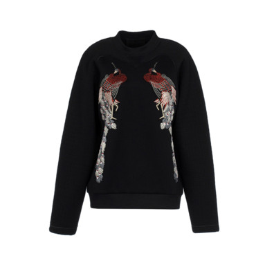 Le sweat luxueux Proenza Schouler 1090 euros sur The Corner
