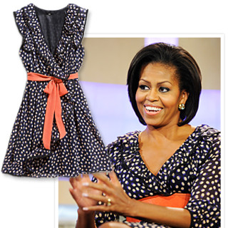 Michelle Obama robe H&M