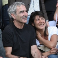 Photo : Raymond Domenech et Estelle Denis, le grand amour !