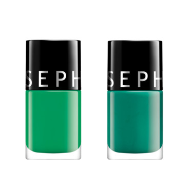Vernis hit color Sephora Green revolution et picnic in the park à 4,90 euros