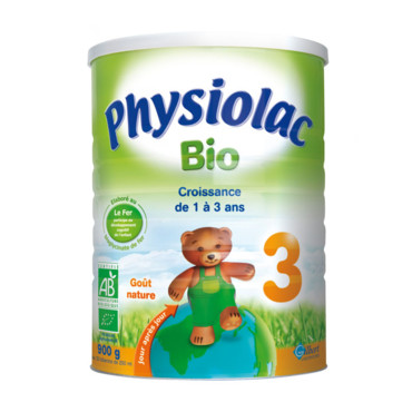 le lait Physiolac Bio 3