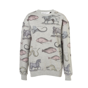 Le sweat régressif Topshop 46 euros