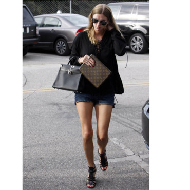 Tendance short Nicky Hilton
