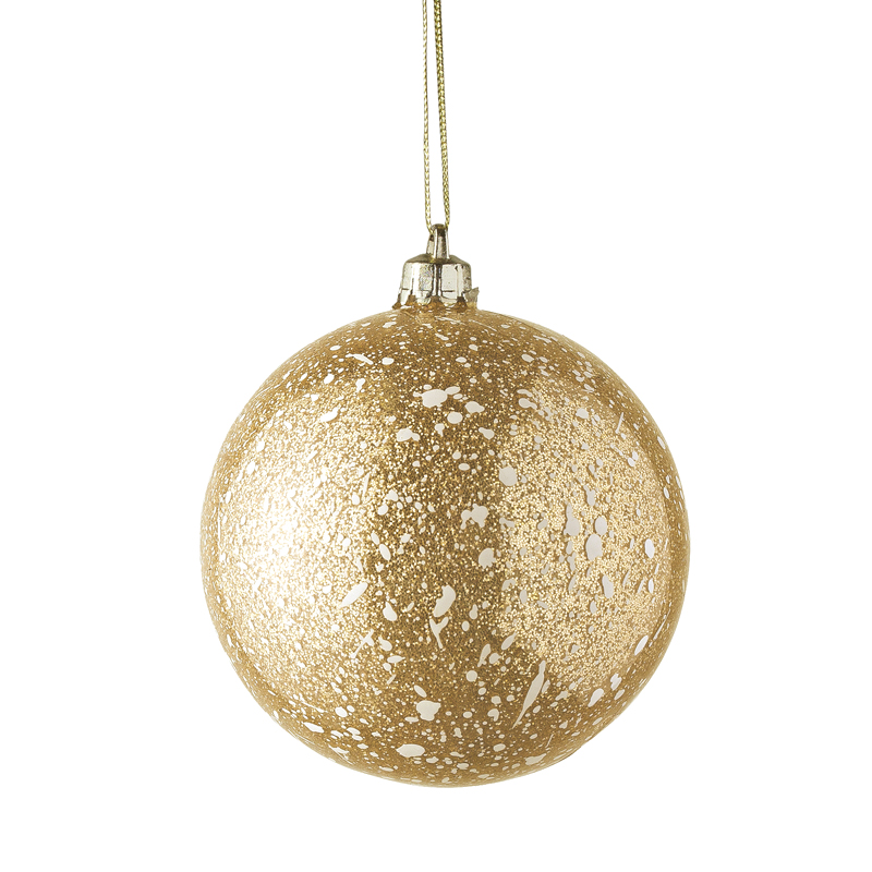 D co de no l un sapin de no l dor dor boule for Boule de noel plastique a decorer