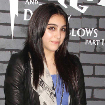 Harry Potter 7 : Lourdes Leon la fille de Madonna