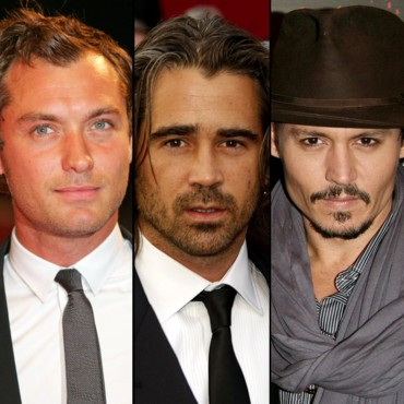 Johnny Depp, Colin Farrell et Jude Law