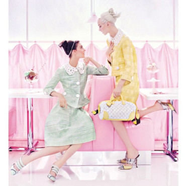 Louis Vuitton Ad SS12