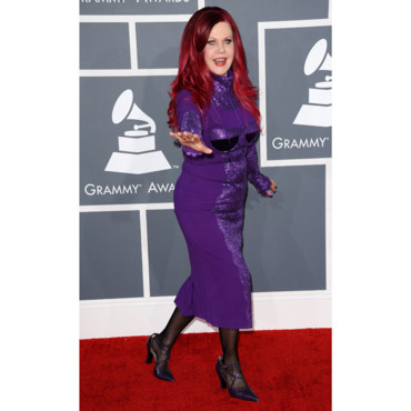 Kate Pierson aux Grammy Awards 2013