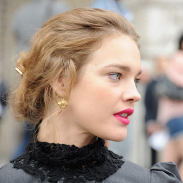 Natalia Vodianova au défilé Chanel Fashion Week Paris