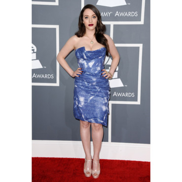 Kat Dennings aux Grammy Awards 2013