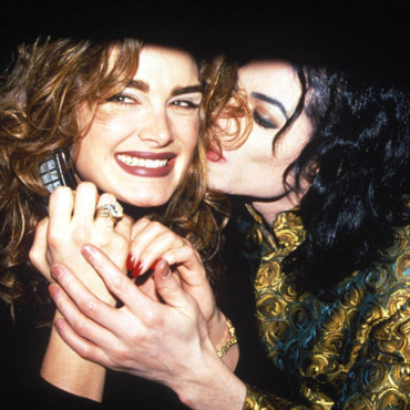 people : Michael Jackson et Brooke Shields