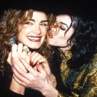 Photo : Michael Jackson et Brooke Shields en 1993