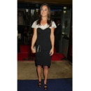 Pippa Middleton en robe black and white Alice Temperley