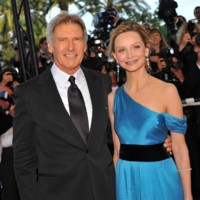Photo : Harrison Ford et Calista Flockhart au Festival de Cannes 2008