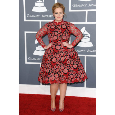 Adele aux Grammy Awards 2013