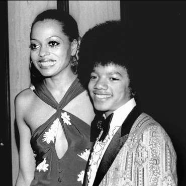 people : Michael Jackson et Diana Ross
