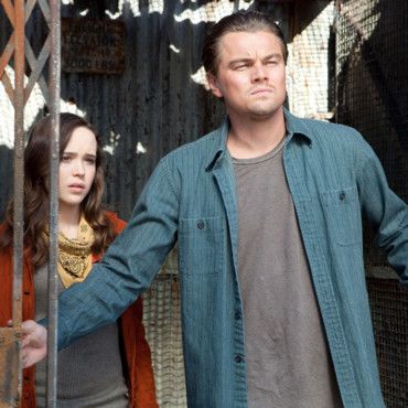 Inception de Christopher Nolan - Leonardo DiCaprio et Ellen Page