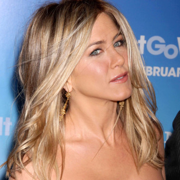 Jennifer Aniston et son balayage blond clair