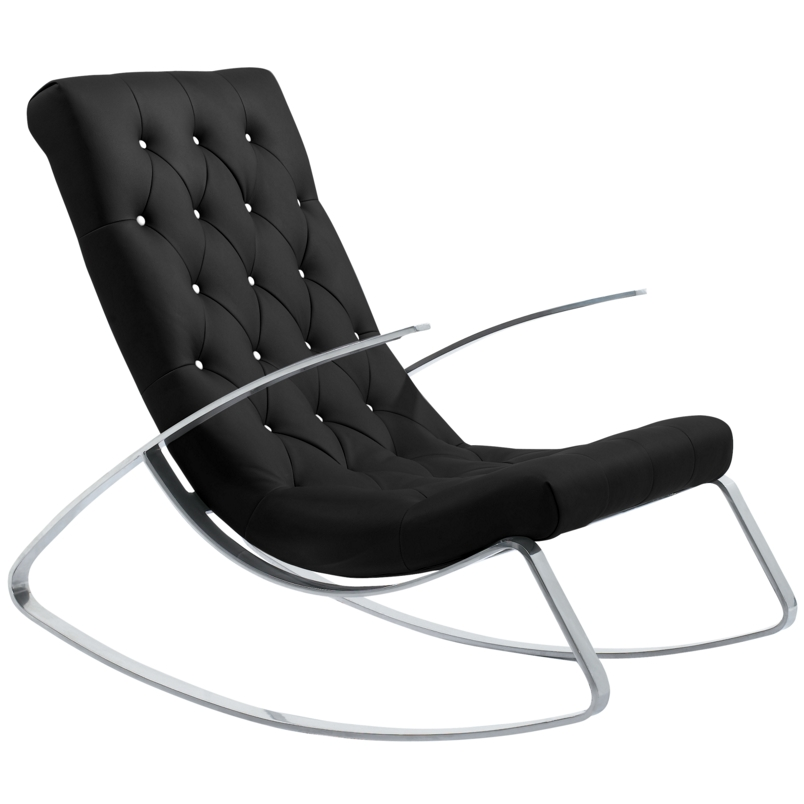 Fauteuil bascule 20 rocking chairs qui font balancer - Chaise design bascule ...