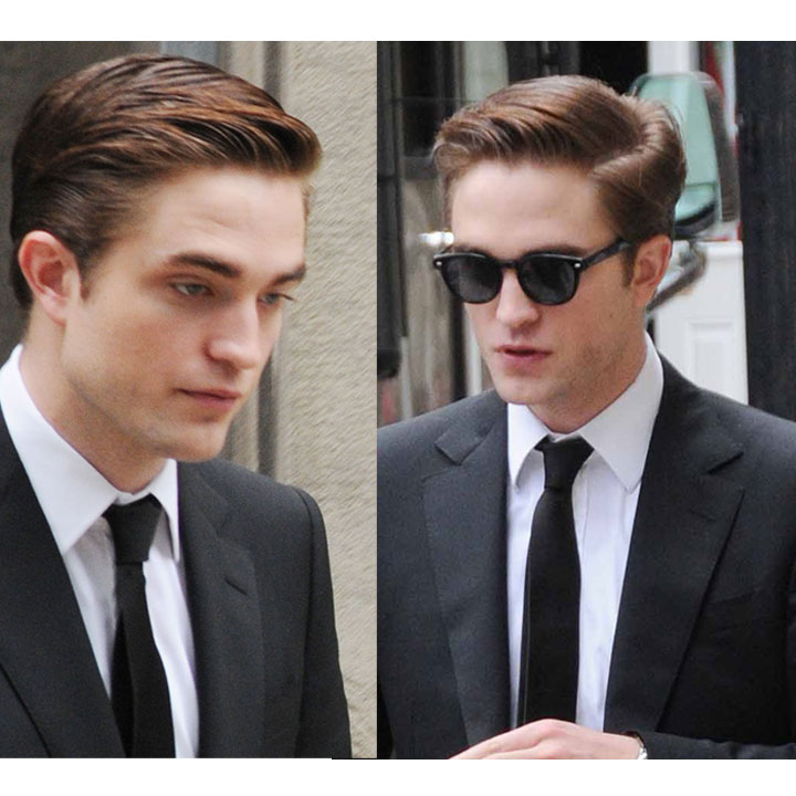 robert pattinson son look coiffure r tro sage beaut. Black Bedroom Furniture Sets. Home Design Ideas