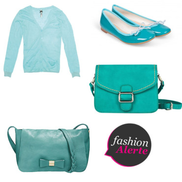 Shopping tendance turquoise