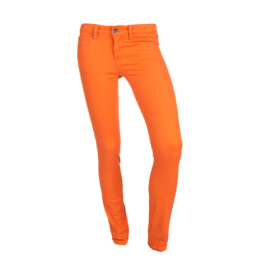 Jeans orange flashy Outfitters Nations 39.95 euros