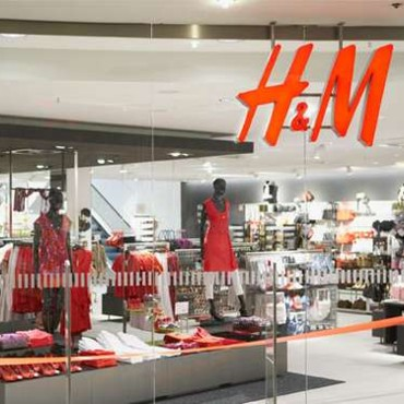 Devanture magasin H et M
