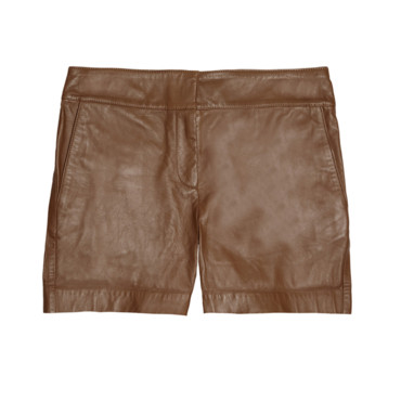 Short en cuir See By Chloé sur The Outnet.com, 234,83 euros