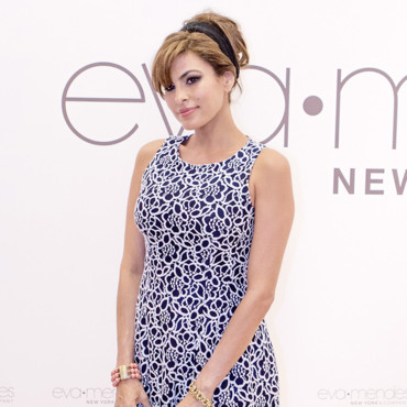 Eva Mendes au lancement de sa collection pour New York and Company à Los Angeles le 18 mars 2014