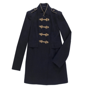Manteau col officier Morgan 179 euros