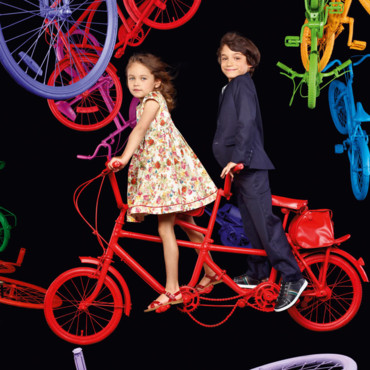 La collection Paul Smith Junior pour la mode printemps-été 2012
