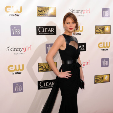 Jennifer Lawrence lors des Critic's Choice Awards 2013 le 10 janvier 2013