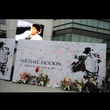 Staples Center hommage à Michael Jackson