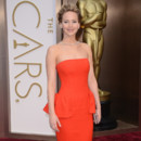 Jennifer Lawrence aux Oscars 2014 le 2 mars à Los Angeles