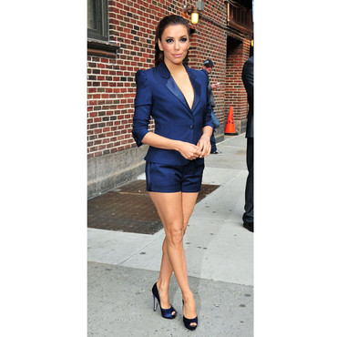 Eva Longoria Late Show David Letterman