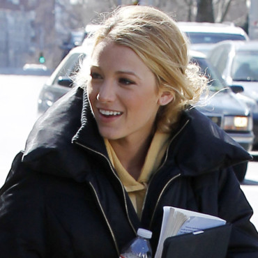Blake Lively pour Gossip Girl