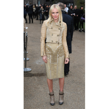 Kate Bosworth en Burberry