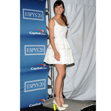 Jessica Biel modeuse girly