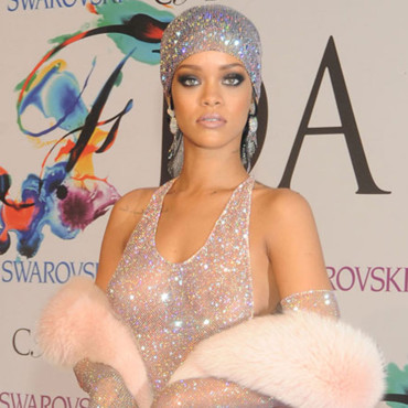 "Rihanna à la cérémonie de remise de prix des CFDA (Council of Fashion Designers of America) Awards 2014 à l' ""Alice Tully Hall Lincoln Center"", à New York le 2 juin 2014."