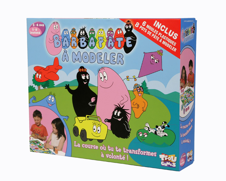 s lection de jeux de soci t pour les 3 6 ans jeu de soci t tf1 games barbapate modeler. Black Bedroom Furniture Sets. Home Design Ideas