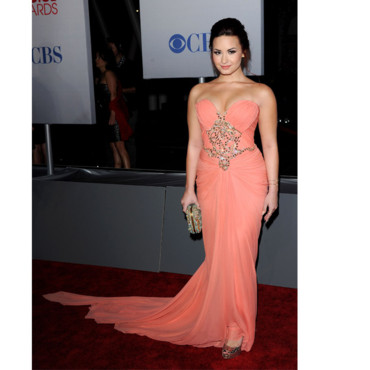 People's Choice Awards Demi Lovato en Marchesa