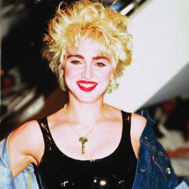 Madonna, photo d'archive non datée