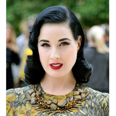 La pin up Dita Von Teese