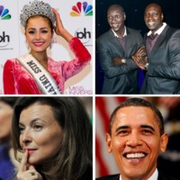 Miss Univers 2012, Omar Sy, Valrie Trierweiler... les 10 news people de la semaine