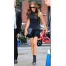Victoria Beckham robe noire Fashion Week New York