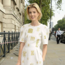 Agyness Deyn blond soleil coloration Pop Art Ball à Londres mai 2012