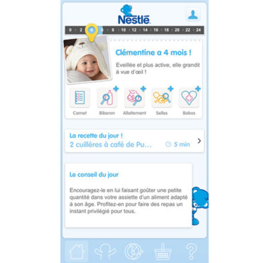 Application NESTLÉ Bébé sur iTunes