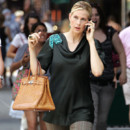 Kelly Rutherford et son sac Hermès